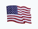 tile flag poster
