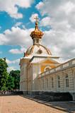peterhof. big palace poster