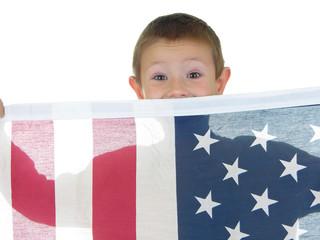 flag boy two