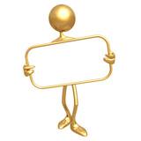 Fototapety blank presentation frame