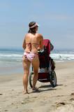 beach mom poster