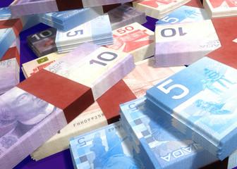 canadian money 3d