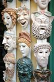 greek masks poster