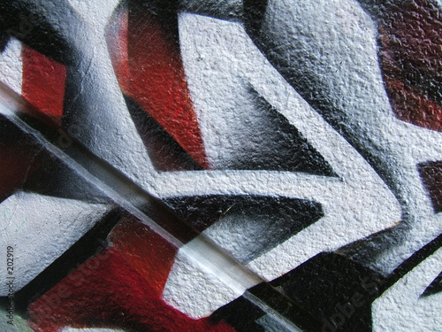 flèche (détail d'un graffiti) © Gautier Willaume
