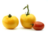 three tomatos poster
