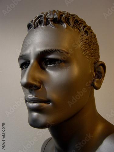 Homme+noir+mannequin