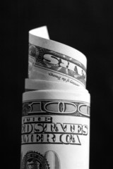 dollars rolled