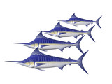 four marlin poster