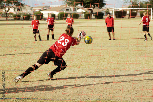 goalie action