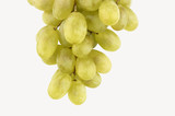 fresh grapes isolated poster