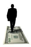 moneymaker silhouette poster