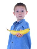 want a banana? poster