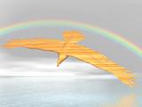 rainbow eagle poster