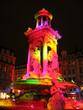 fontaine coloré à lyon