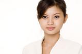 businesswoman in white poster