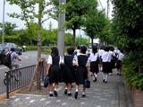 japanese schoolgirls poster
