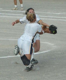 softball catch poster