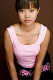 asian in pink 10 poster