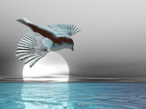 ice bird poster