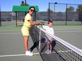 tennis sports poster