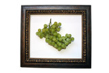 grapes in frame poster