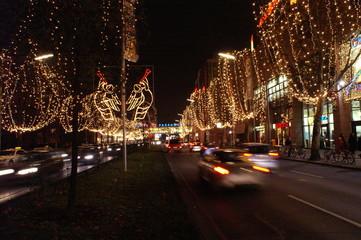 abends kurz vor weihnachten