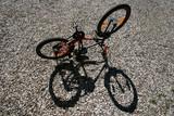 child bike and shade