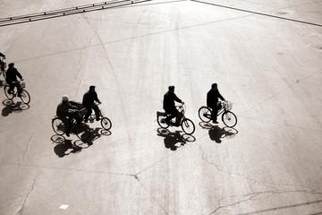 biking in bejing