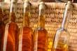 huile d'olives en bouteille