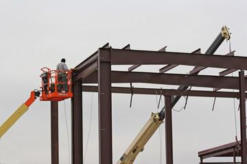 high lift  steel worker