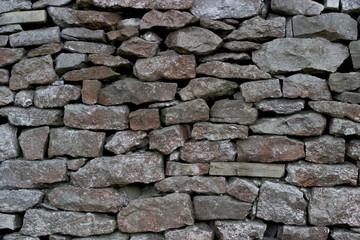 texture - drystone walling