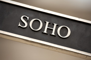 soho street sign