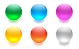 Fototapety aqua buttons