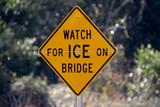 ice on bridge