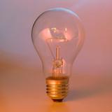 clear lightbulb poster