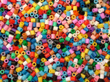 colorful beads poster