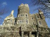 casa loma castle poster
