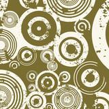 grunge circles poster