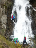 waterfall abseil poster