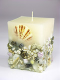 decorative candle poster