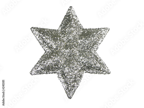 poster of xmas tree top star