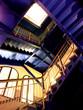 escaliers depuis le bas (lyon, france)