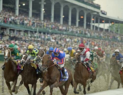 canvas print picture kentucky derby