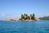 îlot saint pierre - seychelles poster