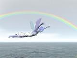 rainbow fairy poster