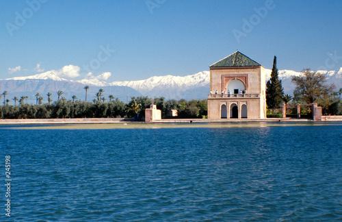 Fotobehang Marokko marrakech la menara