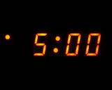 five o clock poster
