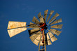 objects - sunlit windmill