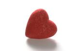 backlit heart poster