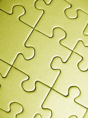 puzzle jaune
